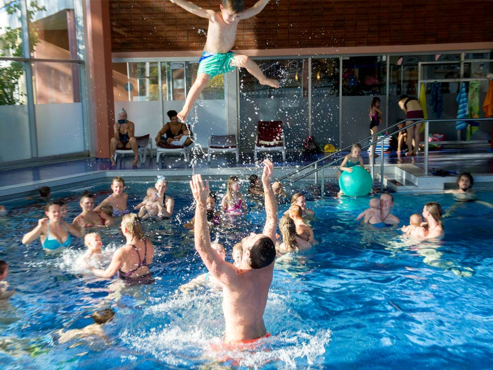 AquaBabys, Babyschwimmen, Kursleiter, Trainer